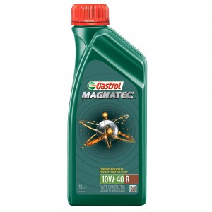 Полусинтетическое моторное масло CASTROL GTX Magnatec 10W40 1л
