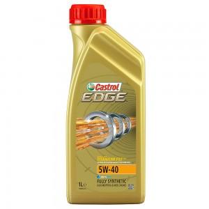 Синтетическое моторное масло Castrol EDGE 5W40 1л