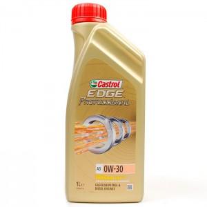 Синтетическое моторное масло Castrol Edge Titanium FST 0W30 A3 1л