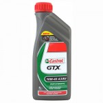 Полусинтетическое моторное масло Castrol GTX 10W40 A3/B3 1л