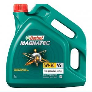 Синтетическое моторное масло CASTROL Magnatec 5W30 A5 4л